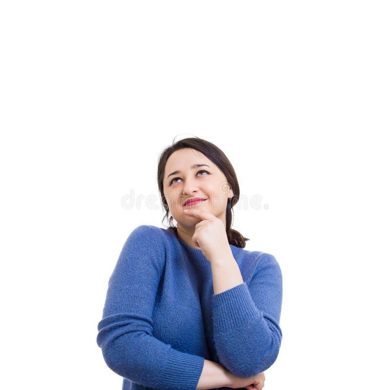 Sonho da mulher imagem de stock royalty free