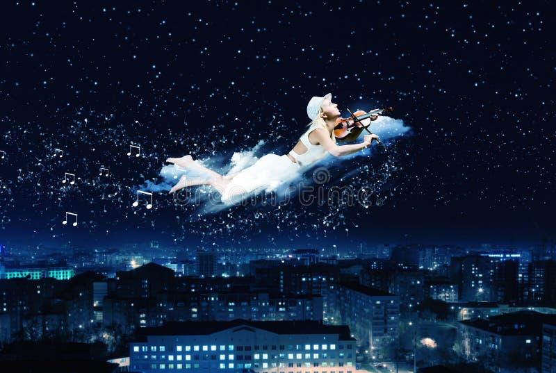 Sonho da noite fotografia de stock royalty free