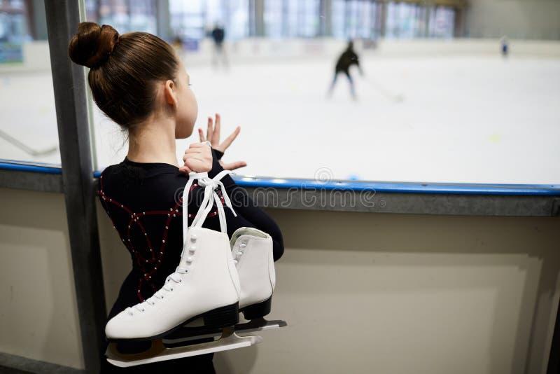 Sonho da patinagem artística fotografia de stock royalty free