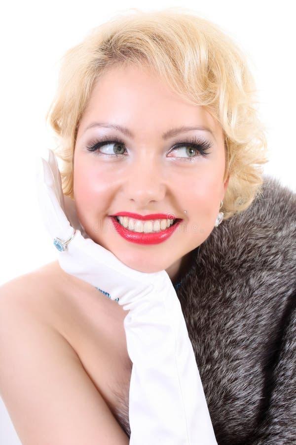 Sonho de Blondie fotografia de stock royalty free