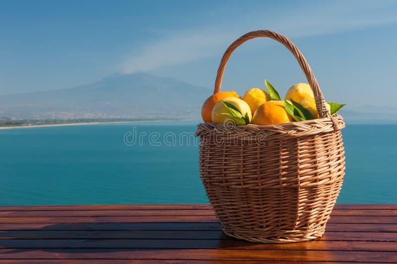 Sonho de Sicília fotografia de stock