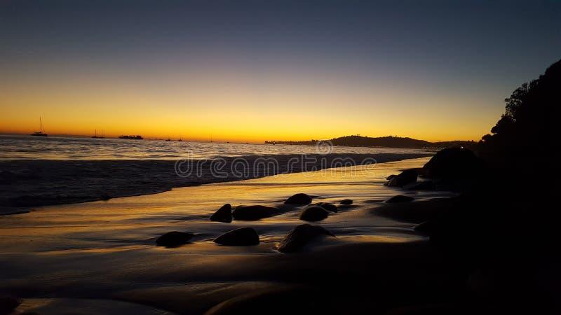 Sonho de um por do sol fotografia de stock royalty free