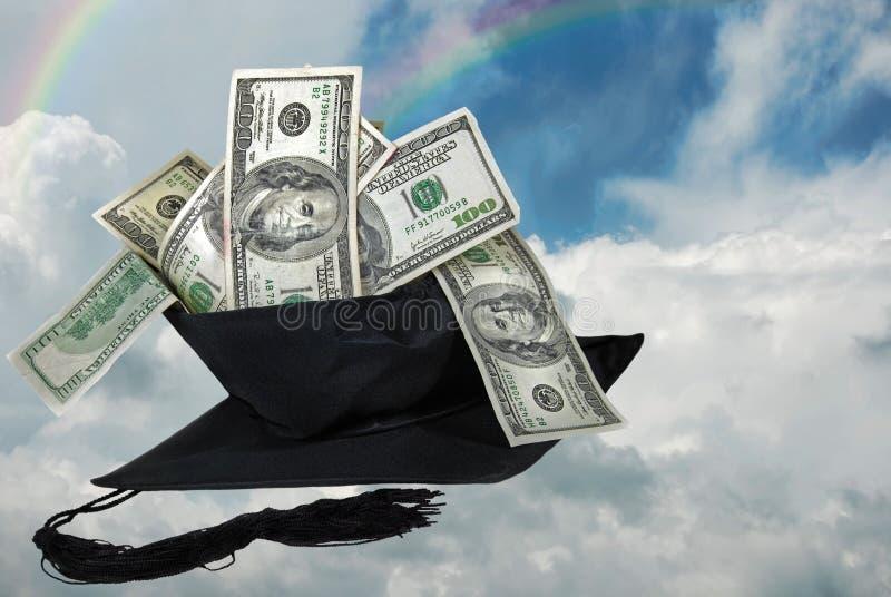 Sonho do graduado imagens de stock