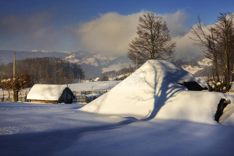 Sonho do inverno imagem de stock