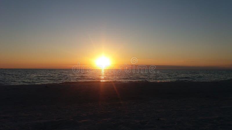 Sonho do por do sol imagem de stock