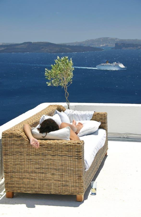 Sonho do verão foto de stock royalty free