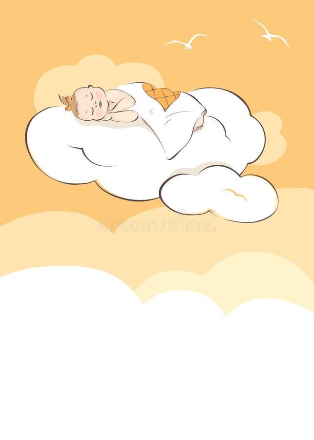 Sonho doce ilustração royalty free