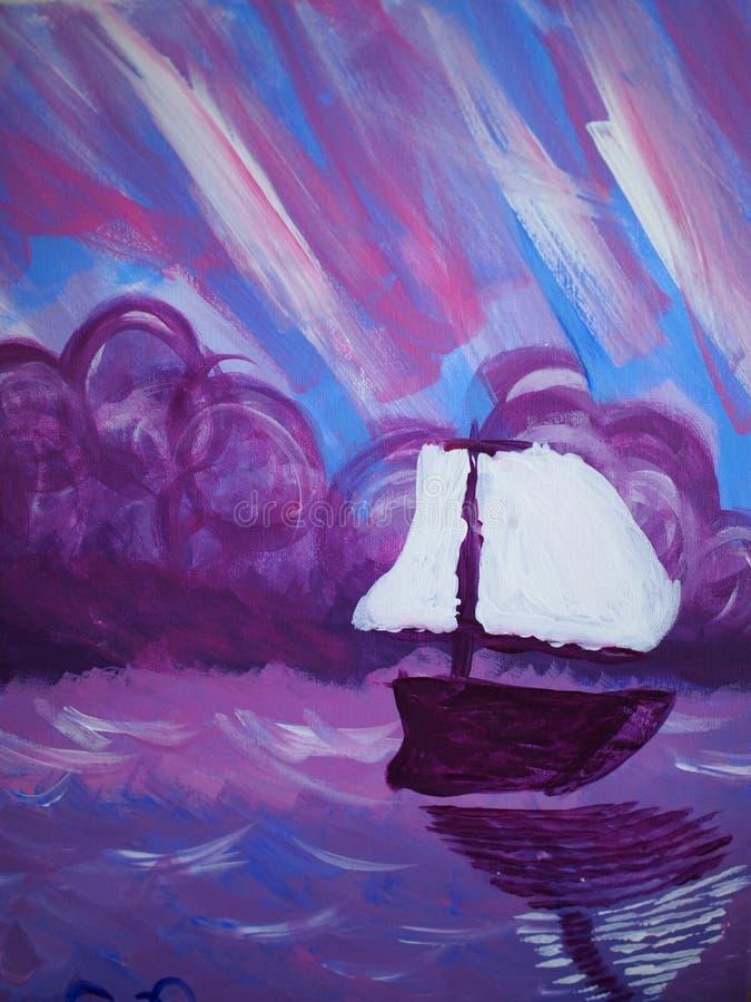 Sonho dos marinheiros fotografia de stock royalty free