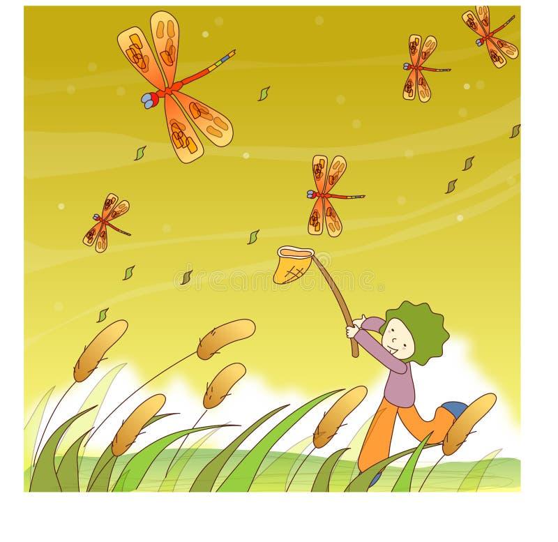 Sonho series14 ilustração do vetor