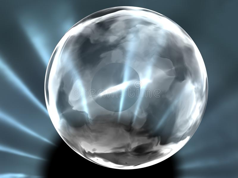 Sonho transparente ilustração do vetor