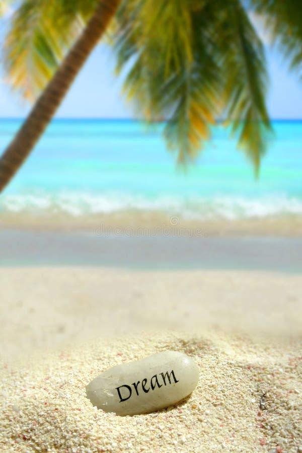 Sonho tropical fotografia de stock