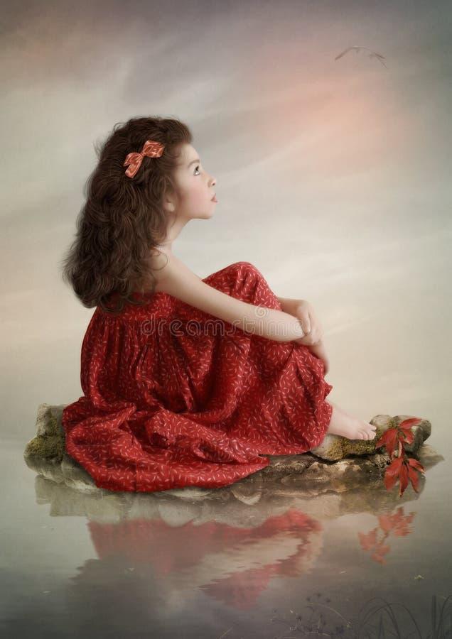 Sonhos da infância foto de stock