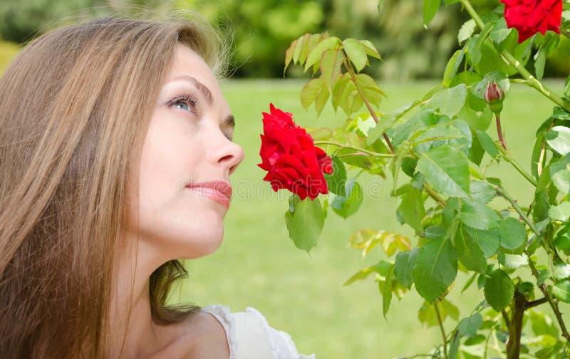 Sonhos da mulher foto de stock royalty free