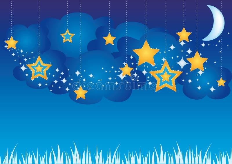 Sonhos doces ilustração stock