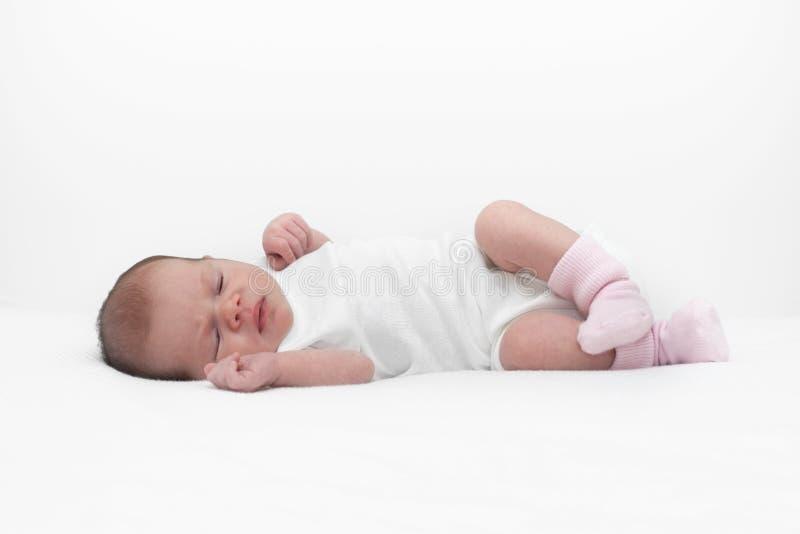 Sonhos doces do bebê fotos de stock