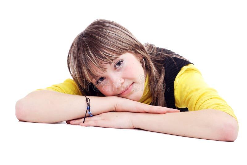 Sonhos dos adolescentes foto de stock royalty free