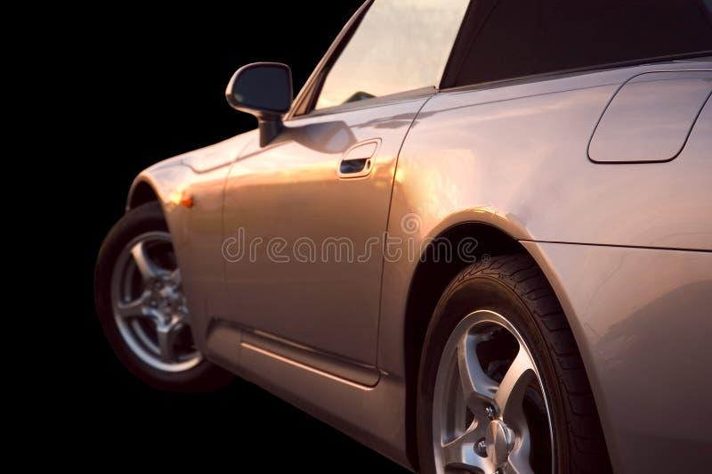 Download Sonhos dourados foto de stock. Imagem de roda, sunset, pneu - 106368
