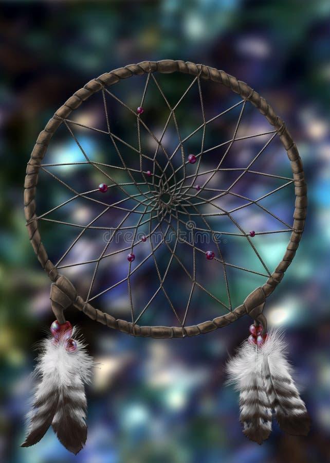 Sonhos mágicos ilustração stock
