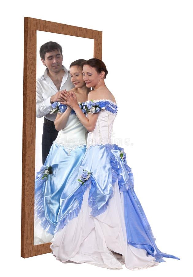 Sonhos românticos imagens de stock royalty free