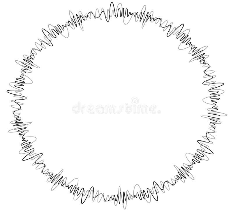 Sonic Wave stock illustratie