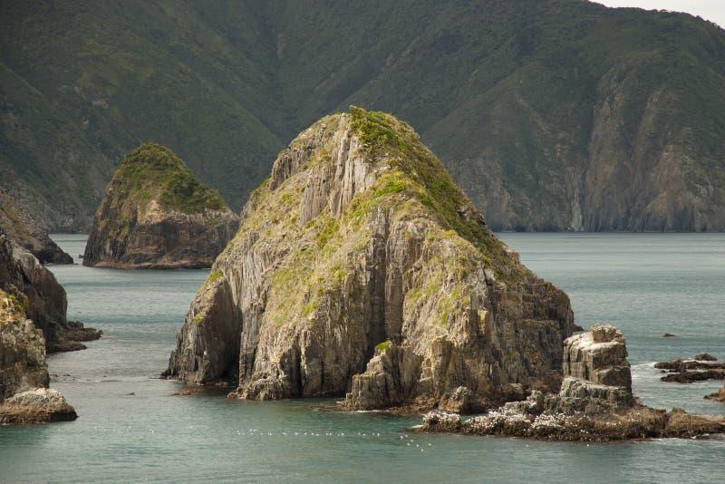 Sonido de Marlborough - Nueva Zelanda fotografía de archivo libre de regalías