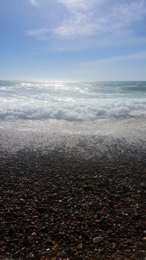 Sonido del océano fotos de archivo