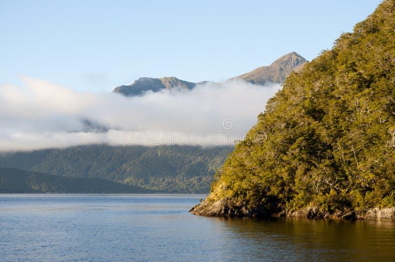 Sonido dudoso - Nueva Zelanda imagen de archivo libre de regalías