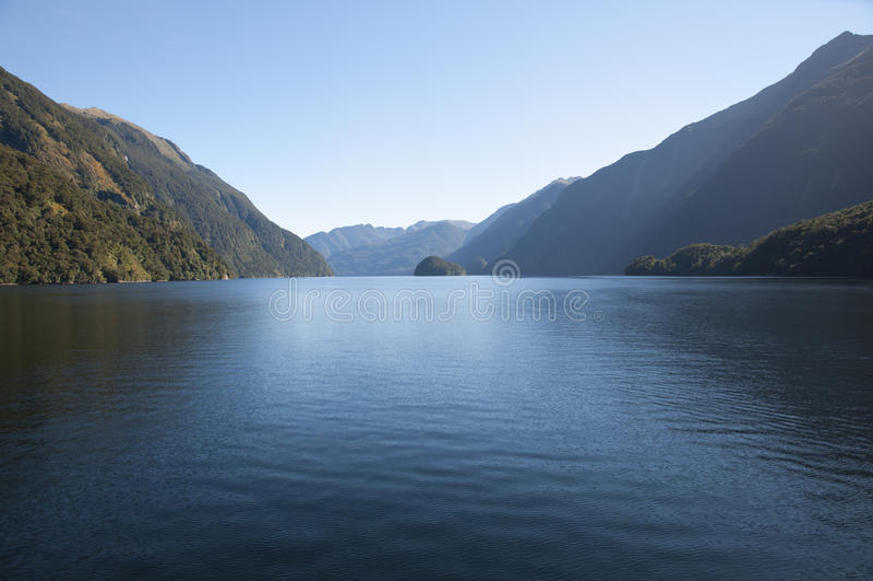 Sonido dudoso - Nueva Zelanda fotografía de archivo