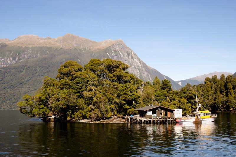Sonido dudoso - Nueva Zelanda foto de archivo