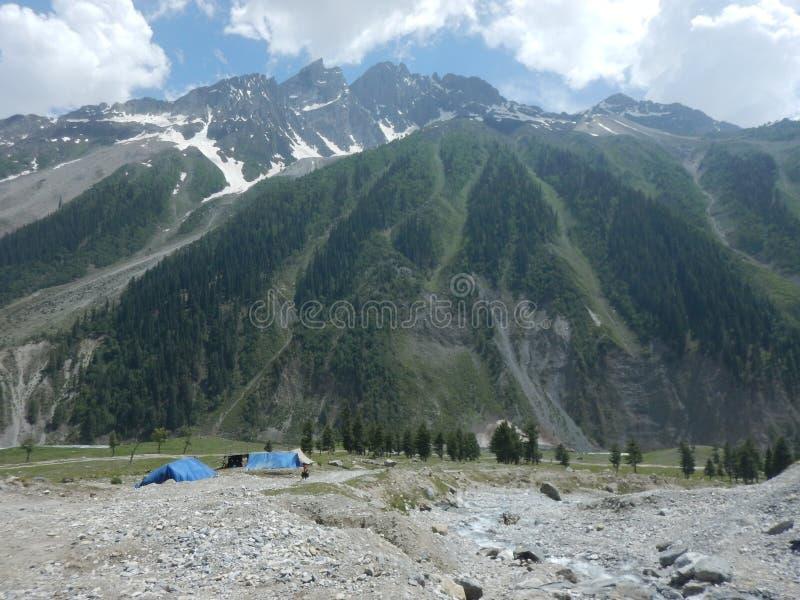 Sonmarg Mountain in Kaschmir-4 stockbild
