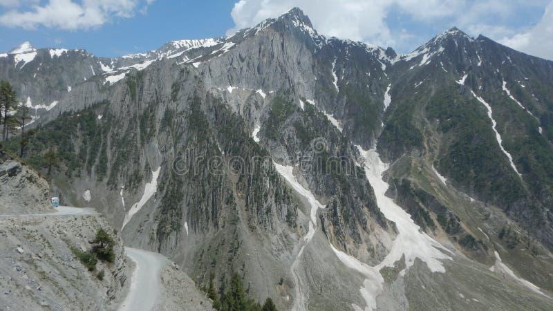 Sonmarg Mountain in Kaschmir-5 stockbilder