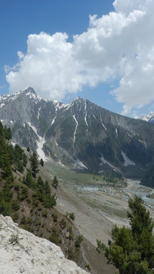 Sonmarg Mountain in Kaschmir-6 stockfotos