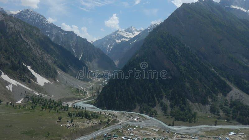 Sonmarg Mountain in Kaschmir-8 stockfotografie