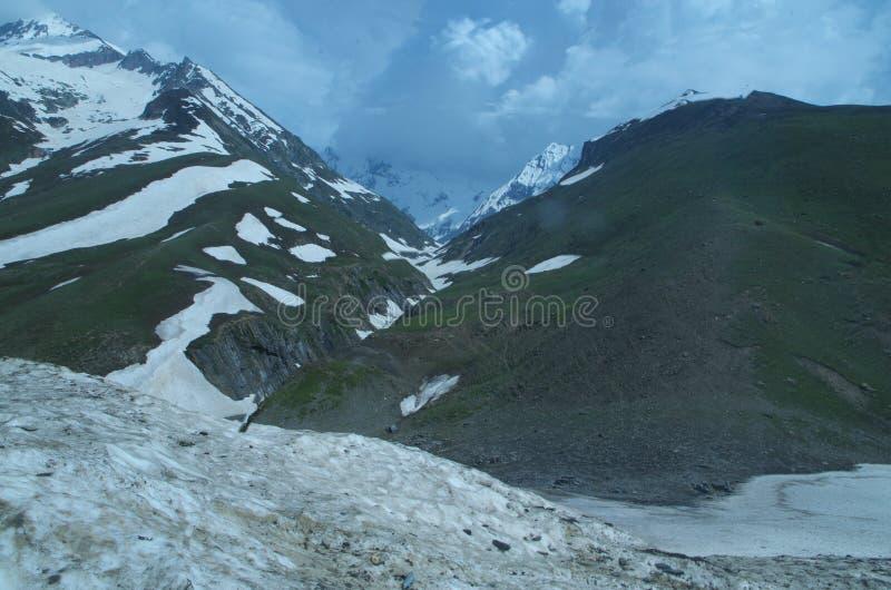 Sonmarglandschap in Kashmir-7 stock afbeelding
