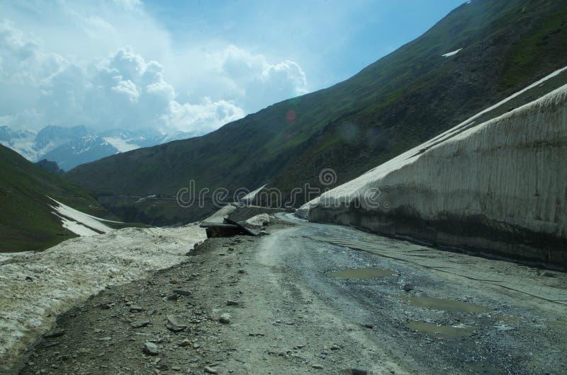 Sonmarglandschap in Kashmir-8 royalty-vrije stock afbeelding