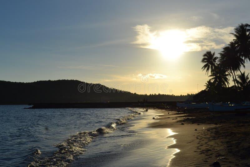 Sonne des späten Nachmittages lizenzfreies stockbild