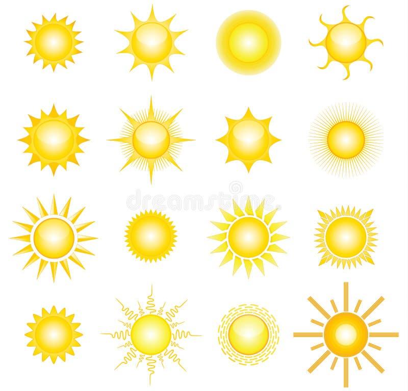 Sonnen lizenzfreie abbildung