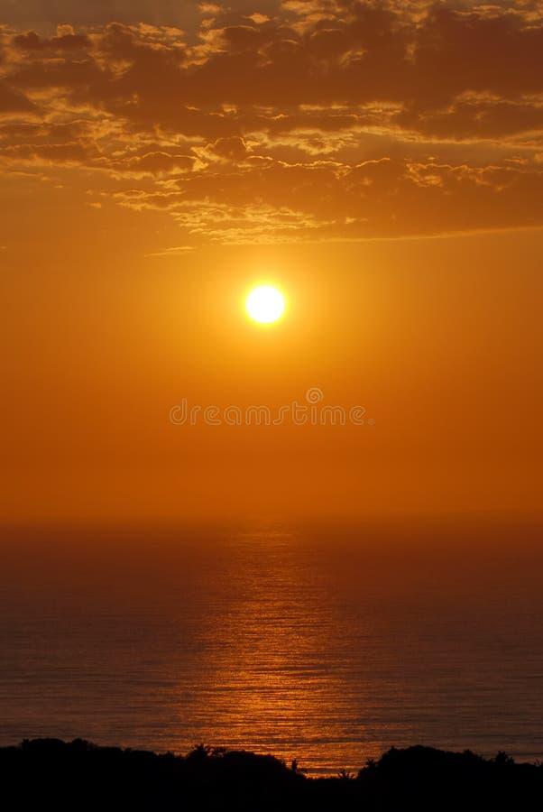 Sonnenaufgang über Dem Ozean Stockbilder