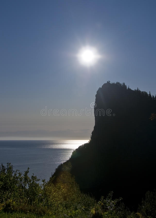 Sonnenaufgang über Dem Ozean Stockbild