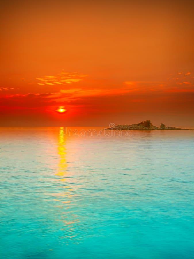 Sonnenaufgang stockbilder
