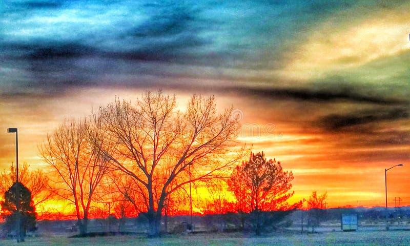 Sonnenaufgang 3 stockfotografie