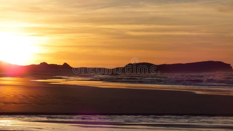 Sonnenaufgang an 5am lizenzfreies stockfoto