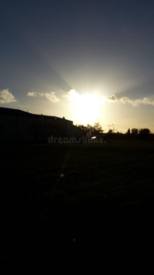 Sonnenaufgang 库存照片