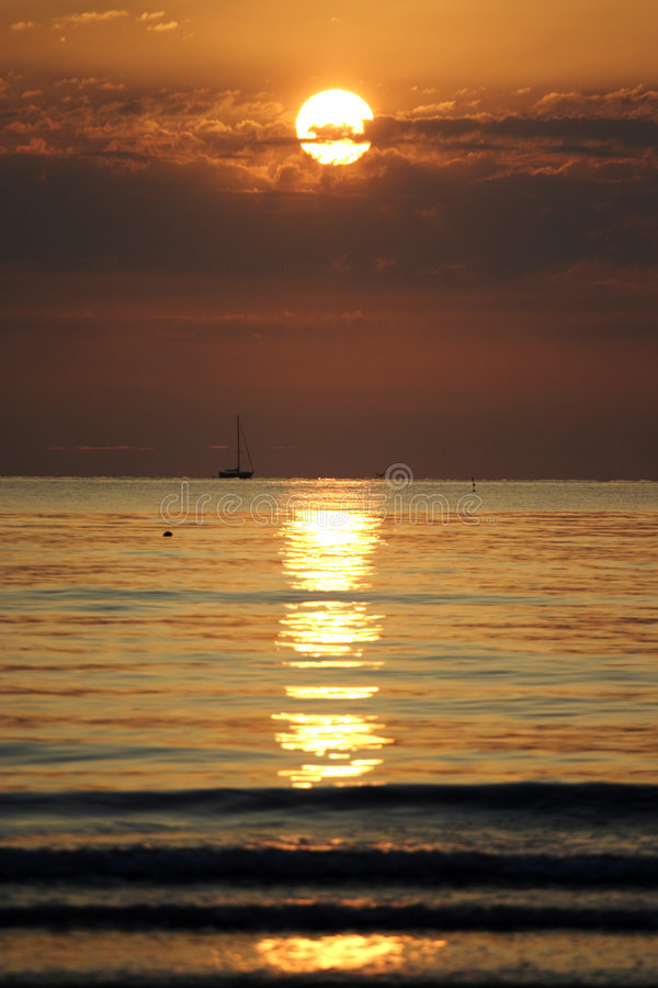 Sonnenaufgang stockfotografie