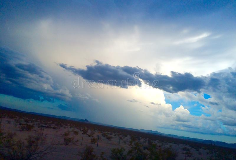 Sonnenaufgang Arizona lizenzfreie stockfotografie