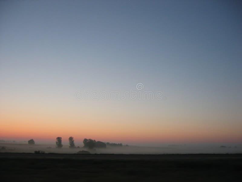 Sonnenaufgang bei Iowa stockbild