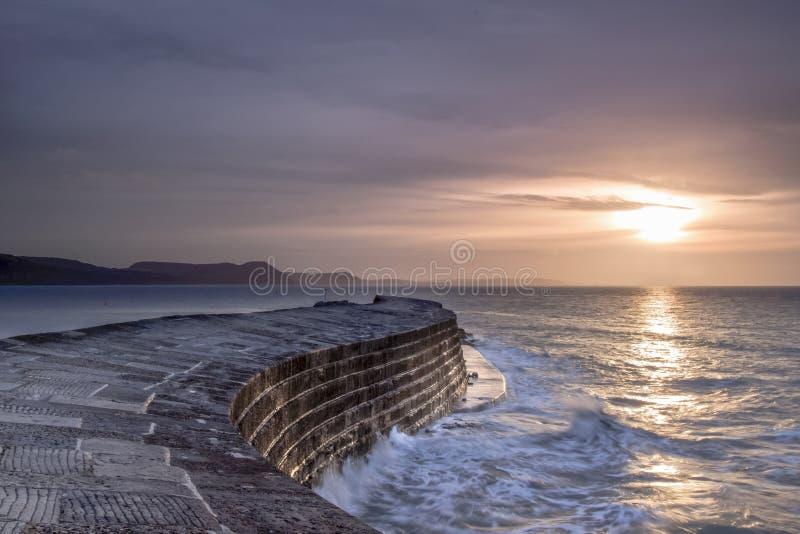 Sonnenaufgang - das Cobb stockfoto