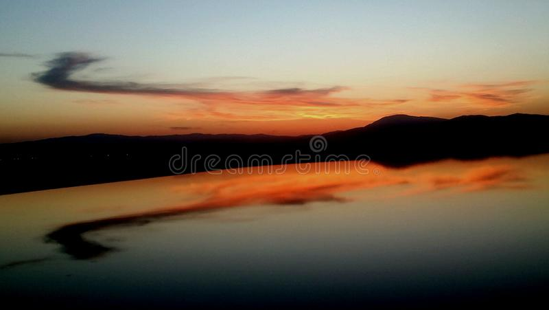Sonnenaufgang Materra 13 lizenzfreie stockfotografie