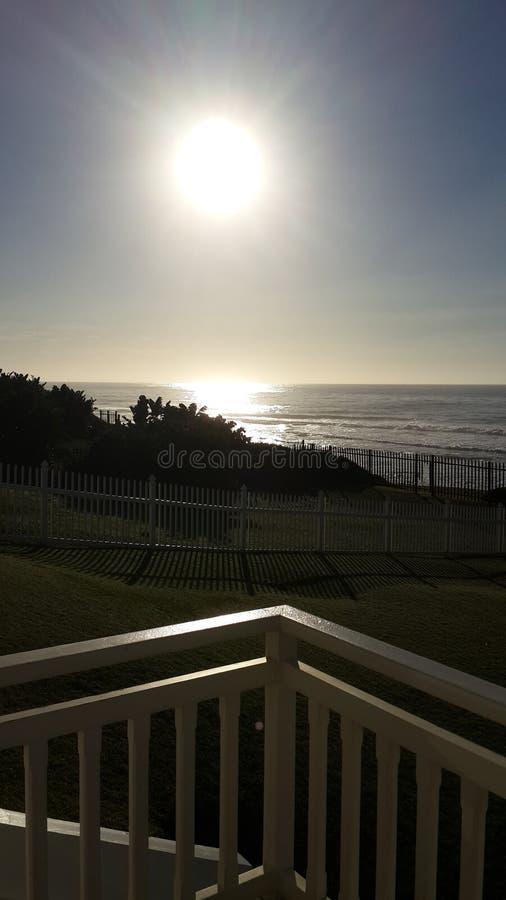 Sonnenaufgang-Meerblick lizenzfreie stockfotografie