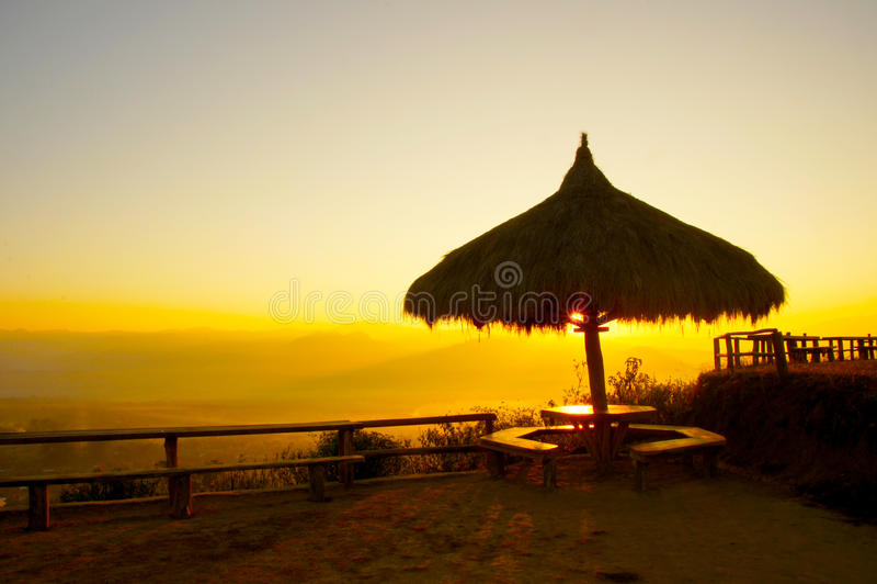 Sonnenaufgang morgens lizenzfreies stockbild